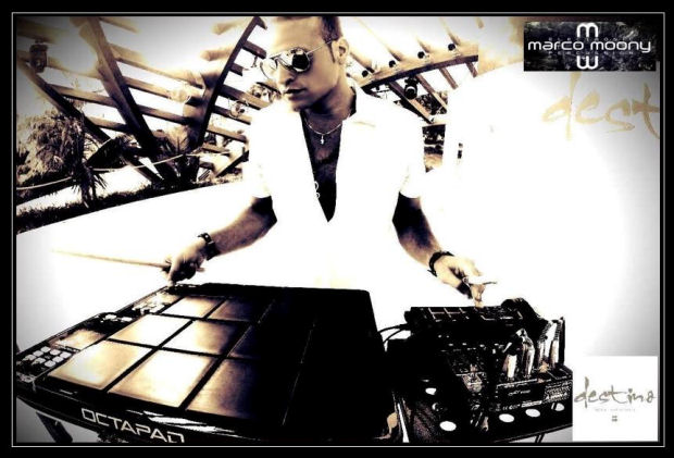 Marco Moony ad Ibiza musica