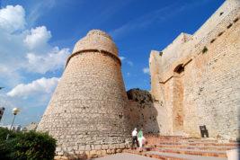 Le grandiose mura di Ibiza