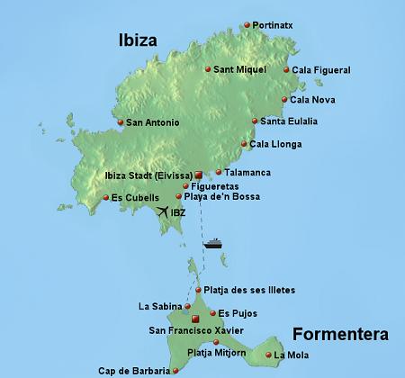 andare in vacanza alle Baleari